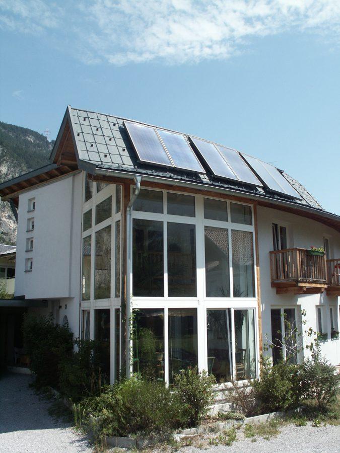Kuva CitrinSolari auringonkeräimestä katolla 2