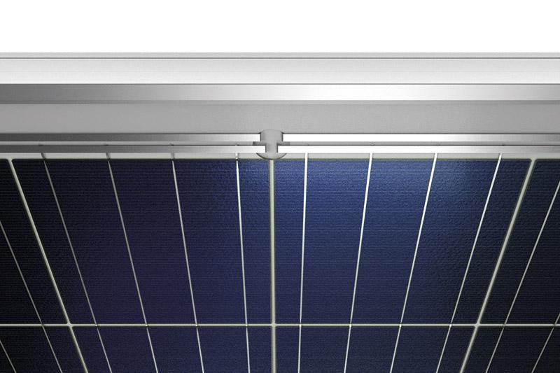Aurinkopaneelin pinta